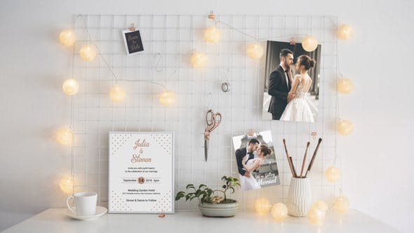 Videohive Wedding Invitation Template 21851785