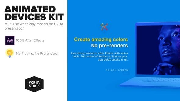 Videohive Animated Devices Kit | UI UX Promo 22967757