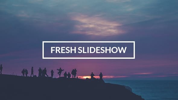 Videohive Fresh Slideshow 12707164