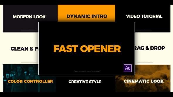 Videohive Clean Fast Opener 23346033