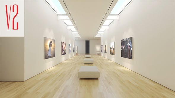 Videohive Art Museum Gallery  V.2 16728643