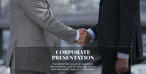 Videohive New Line - Corporate Presentation 21210654