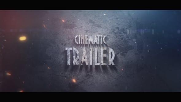 Videohive Cinematic Trailer 22853731