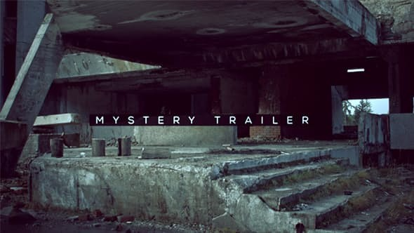 Videohive Mystery Trailer 18953469