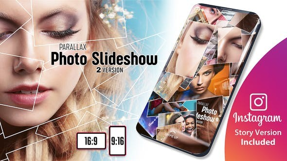 Videohive Parallax Photo Slideshow 23356683