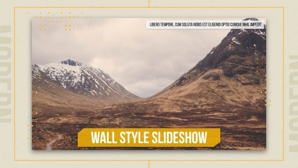 Videohive Wall Style Slideshow 17570010
