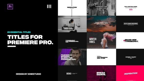Videohive Titles 21700098