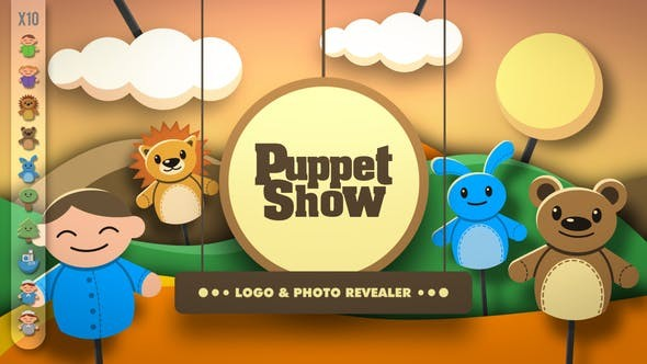Videohive Puppet Show - Revealer 22299015