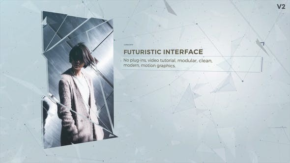 Videohive Futuristic Interface Presentation 4496090