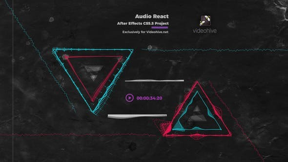 Videohive Audio React Music Visualizer 23470787