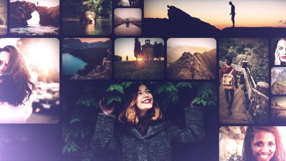 Videohive Clean and Smooth Mosaic Slideshow 20297959