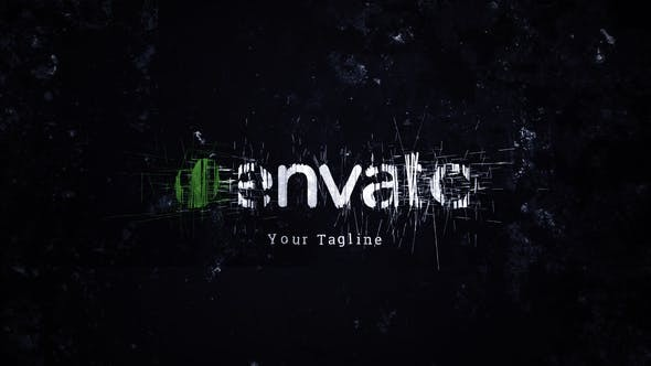 Videohive Dark Glitch - Grunge Logo Reveal 14746683