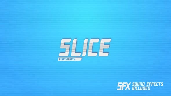 Videohive Slice Transitions 22918826 - Apple Motion Templates