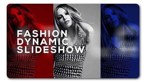 Videohive Slideshow Fashion Dynamic 19358672