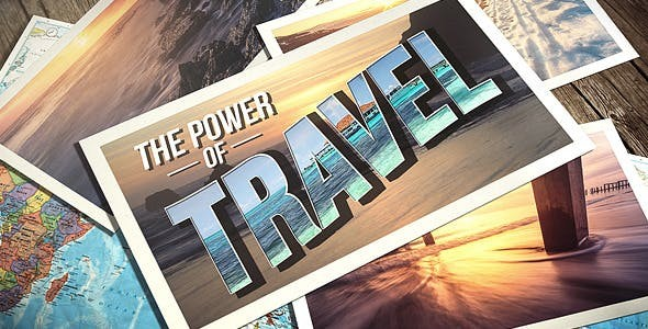 Videohive Photo Gallery Travel 8737025