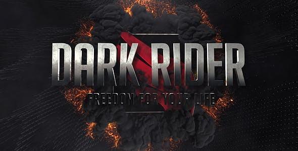 Videohive Dark Rider Trailer 18629342