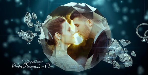 Videohive Wedding Ring Slideshow 19423215