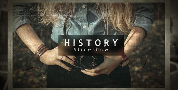 Videohive History Slideshow 21405907