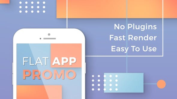 Videohive Flat App Promo 20012229