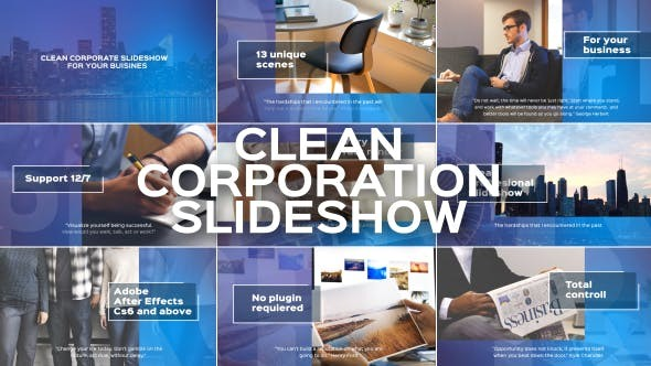 Videohive Clean Corporate Slideshow 19493575