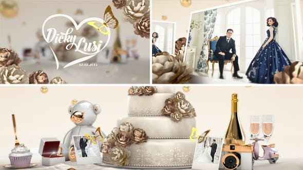 Videohive Wedding 14107039