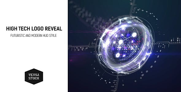 Videohive HighTech Logo Reveal 14345491