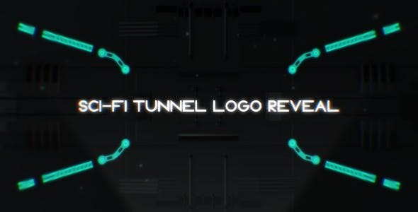 Videohive Sci-Fi Tunnel Logo Reveal 18241416