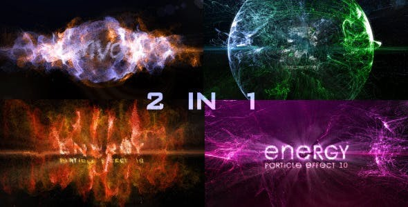 Videohive Particle Effect 10 (Energy) 8441624