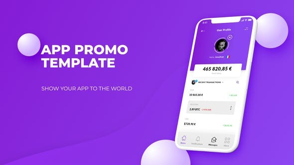Videohive Color App Promo 22833506