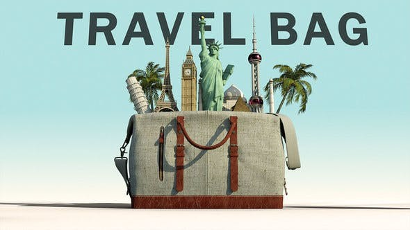 Videohive Travel Bag 23387114