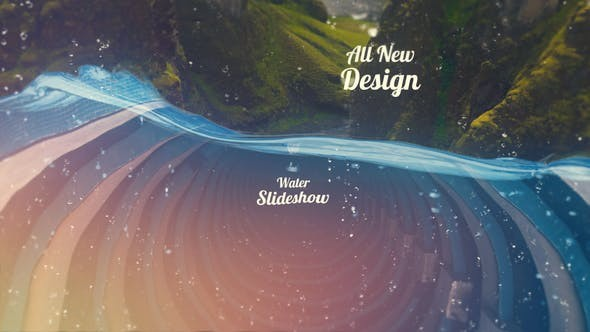 Videohive Water Slideshow 22324142