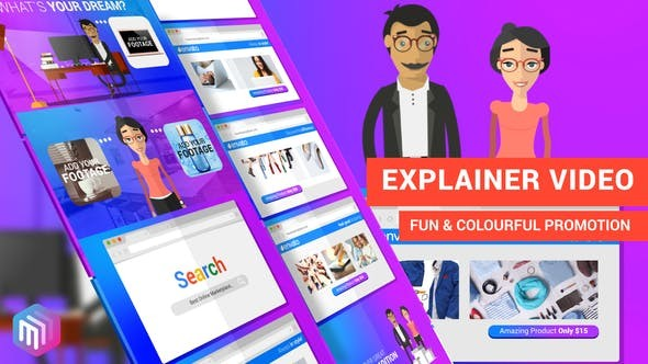 Videohive Explainer Video | Dream Shopping Online 22322899