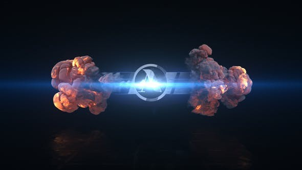 Videohive Short Explosion Logo 23518800