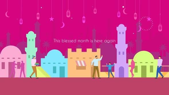 Videohive Ramadan Animation 23543579
