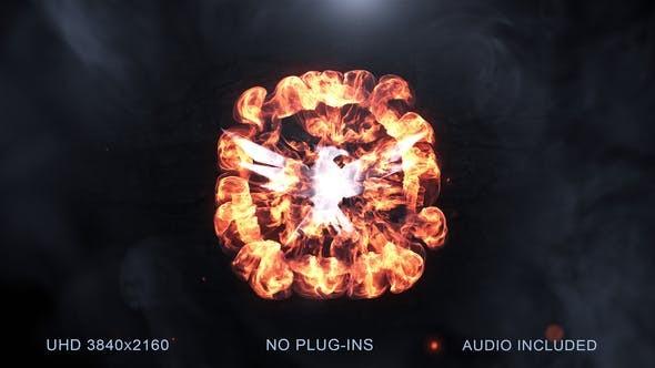 Videohive Logo Slam Explosion 23439087