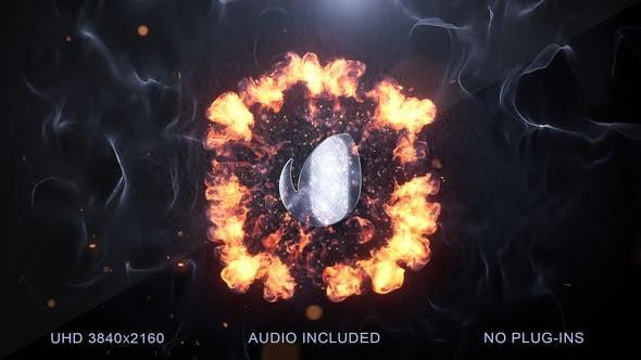 Videohive Explosion Logo Reveal v2 23510819