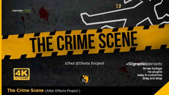 Videohive The Crime Scene Opener 23553877