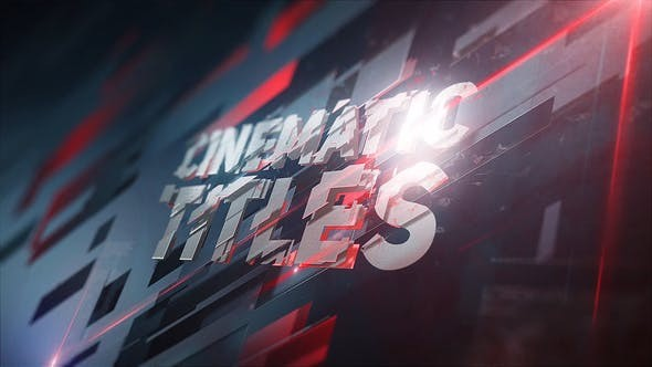 Videohive 3D Plates Titles 23369385