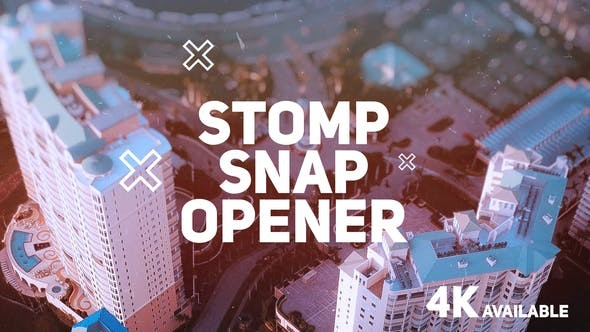 Videohive Stomp Snap Opener 22343697