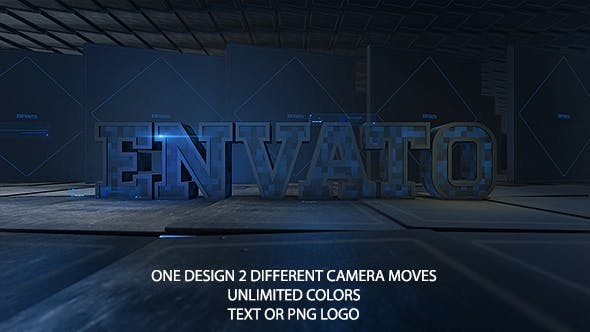 Videohive Hi-Tech Logo Reveal 18858036