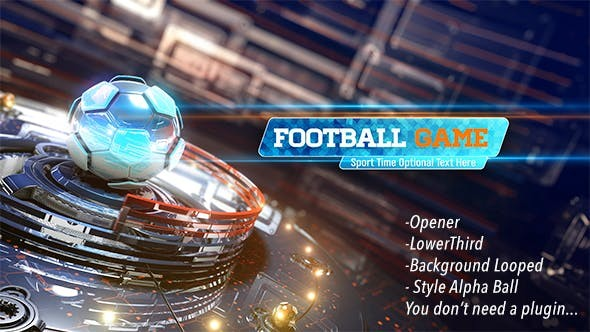 Videohive Football Game Opener 20616990