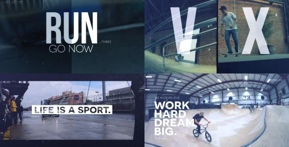 Videohive Sport Slideshow 15807267