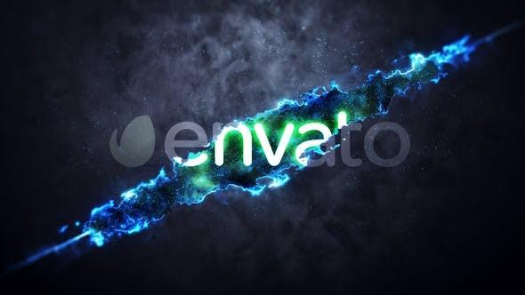 Videohive Slash Logo Reveal 23561520