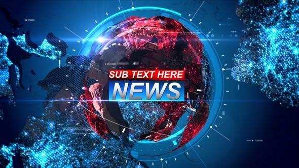 Videohive Breaking News 21589709