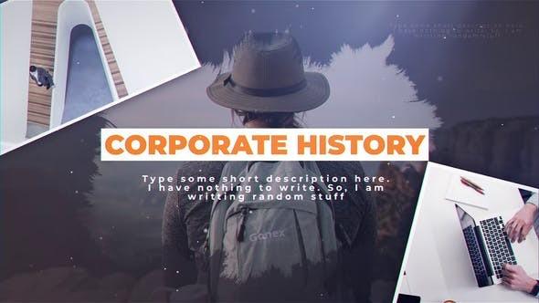 Videohive Corporate History 23583518