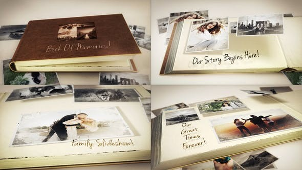 Videohive Book Of Memories 23576775