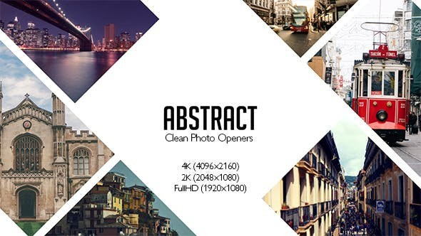 Videohive Abstract Photo Openers - Logo Reveal V2 12047798