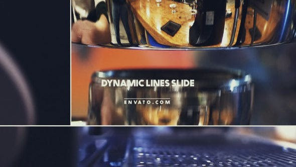 Videohive Dynamic Lines Slide 12678186