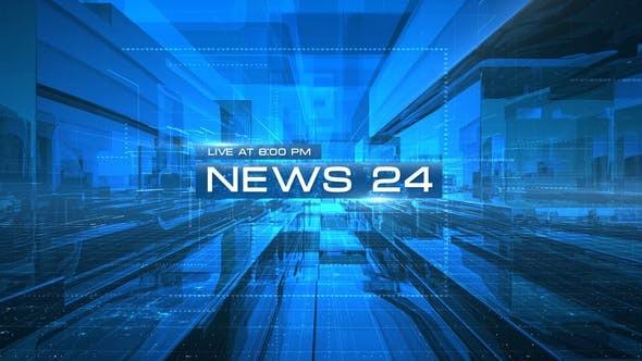 Videohive News 24 Opener 23570322