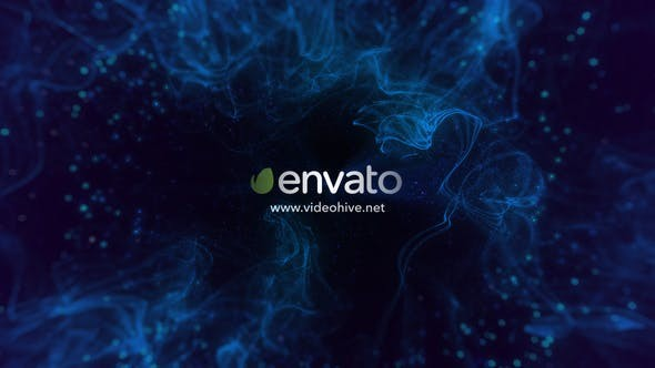 Videohive Spacious Particle Logo Reveal 21588857